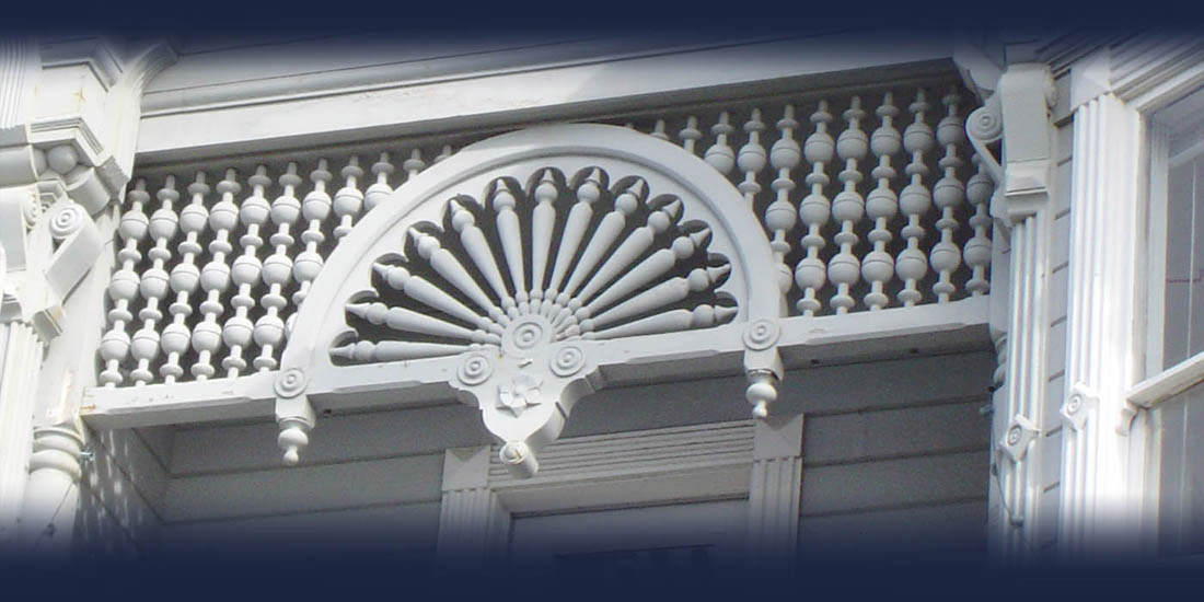 Custom spandrel by Blue Ox Millworks