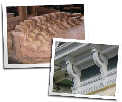 Corbels by Blue Ox Millworks