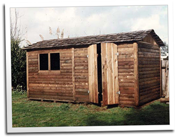 Prefabricated sheds by Blue Ox