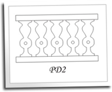 Paper Doll Baluster Patterns